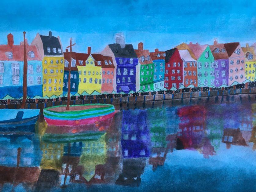 Painting, Art, Daughter, Copenhagen, Silent Sunday, My Sunday Photo