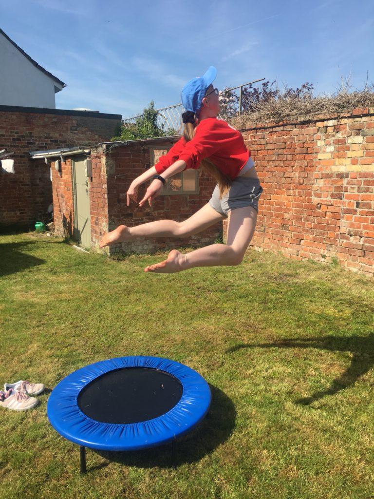 Daughter, Dancer, Trampoline, Gymnastics, 365