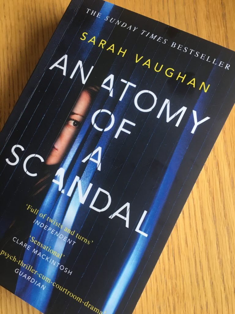Anatomy of a Scandal, Book review, Sarah Vaughan, Anatomy of a Scandal by Sarah Vaughan