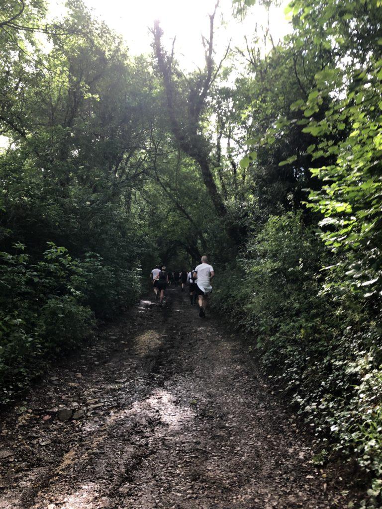 Cheltenham Challenge, Half marathon, Hill
