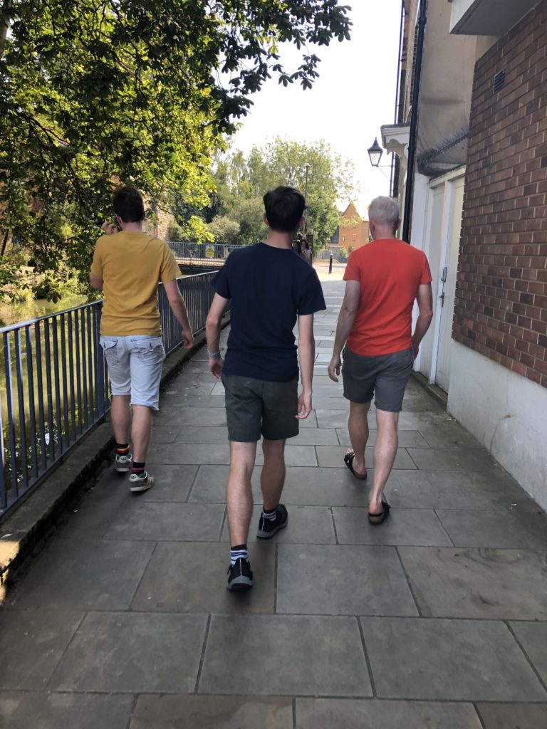 Sons, Husband, Oxford, 365, The apprentice and the last day of freedom, Apprenticeship