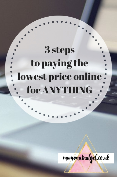 Save Money Shopping Online - 3 easy steps to paying the lowest price for anything