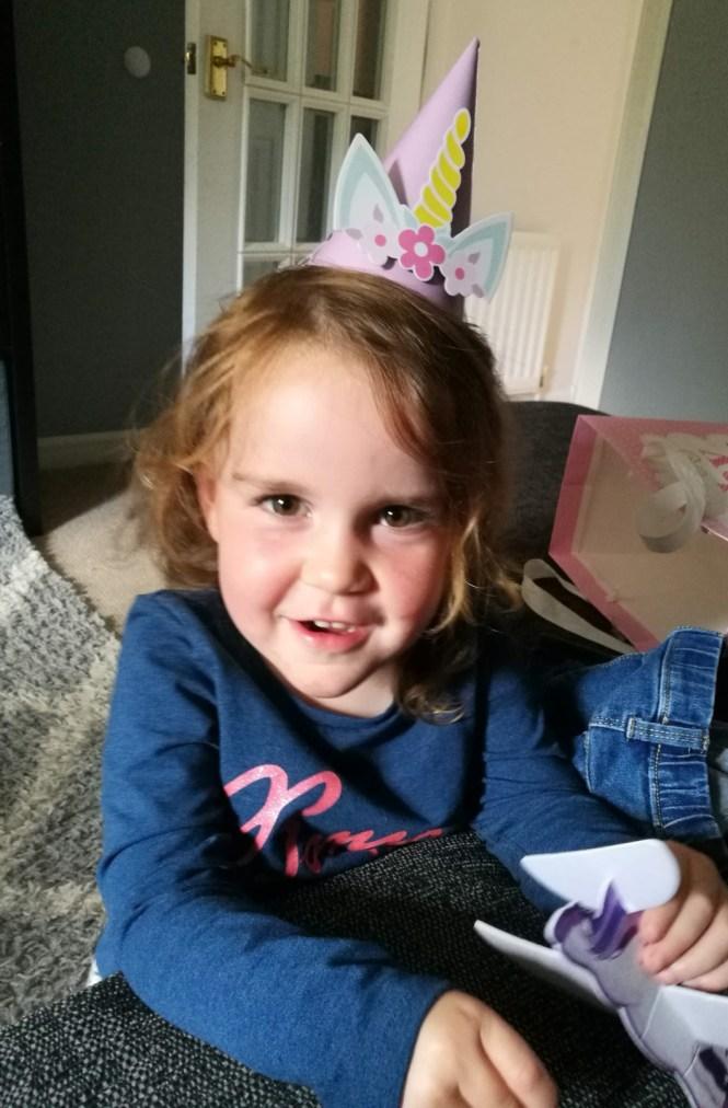 Lauren turns 3
