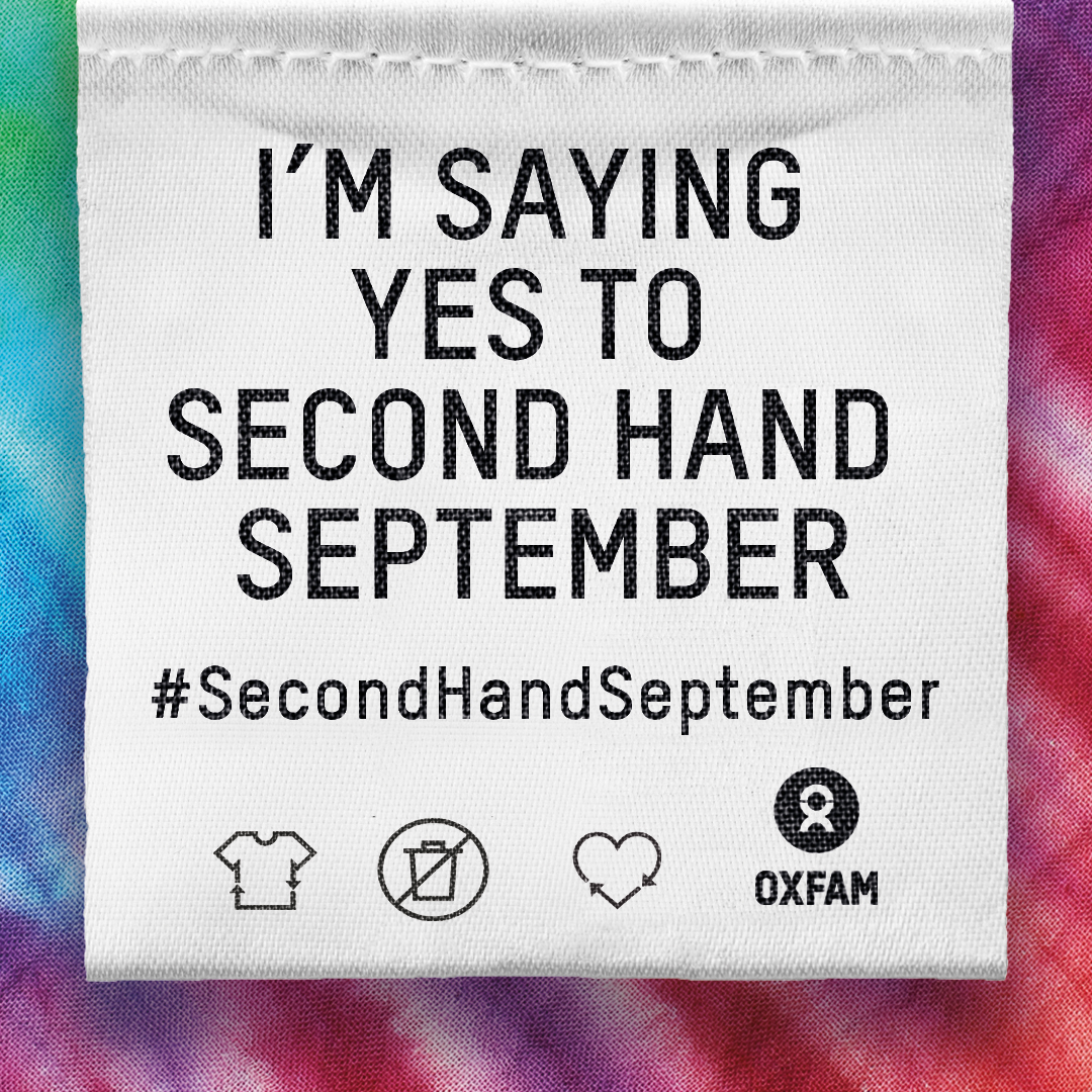 Why I'm Saying Yes to #SecondHandSeptember