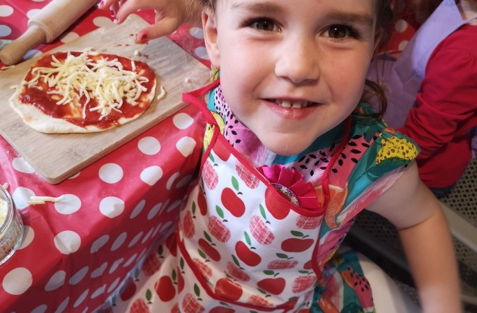 Pizza Party for Kids: Celebrating Lauren's 4th Birthday
