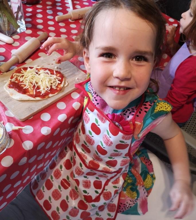 Birthday Pizza Party: Celebrating Lauren's 4th Birthday