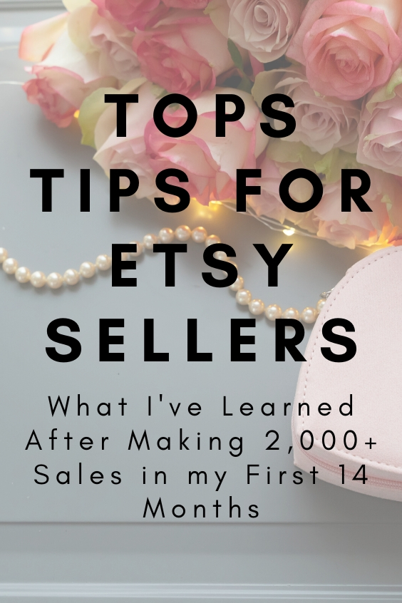 selling on etsy tips