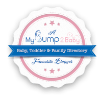 Bump to baby favourite blogger