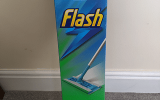 Flash speed mop - boxed