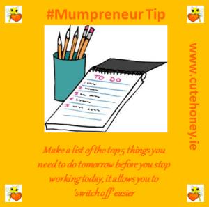 Mumpreneur Tip 12