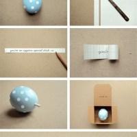 Mensaje secreto...en un huevo!