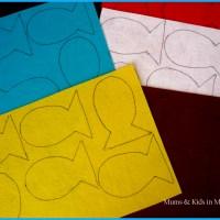 DIY - Pececitos de colores