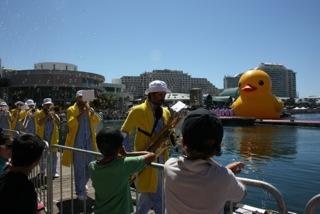 Australia Day, Darling Harbour, Sydney. Copyright Amanda Ansell