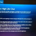 BA High Life Chat