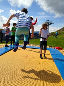 Tirol trampoline. Copyright Gretta Schifano