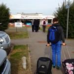 KLM flight from Manston to Amsterdam