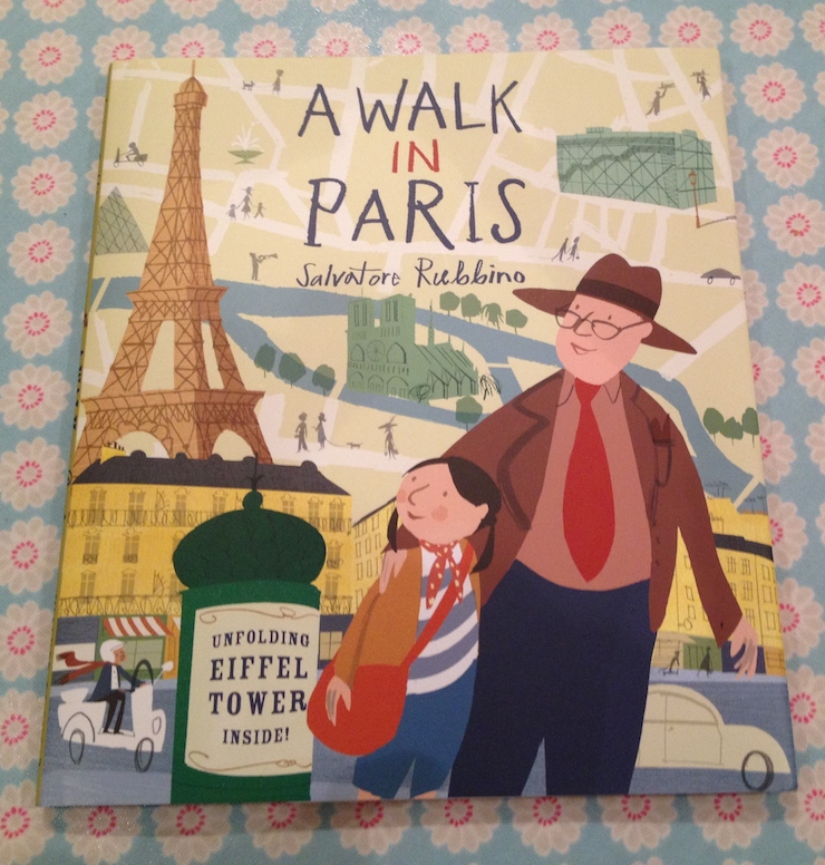 A Walk in Paris - book by Salvatore Rubbino