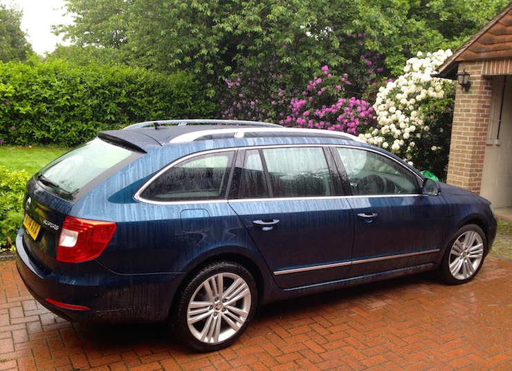 Skoda Superb Estate. Copyright Gretta Schifano