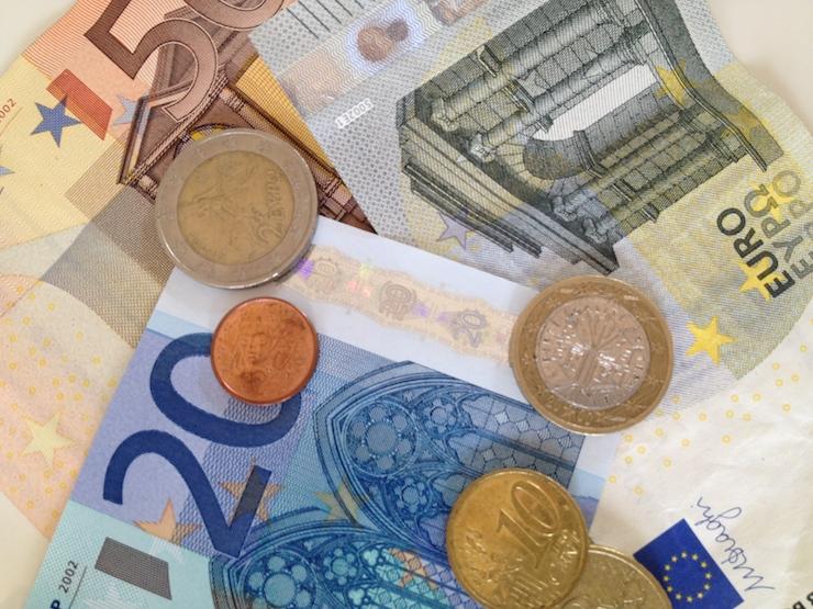 Euros. Copyright Gretta Schifano