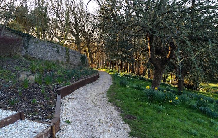 Slade Cottage garden. Copyright Gretta Schifano