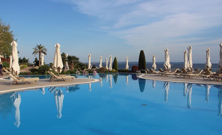 Deluxe Pool, Ikos Oceania. Copyright Gretta Schifano