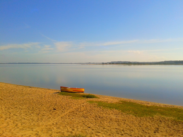 Laguna Jose Ignacio, Uruguay. Image copyright Sarah Gibbins