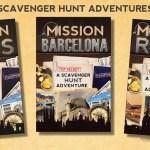 Scavenger Hunt travel books for kids