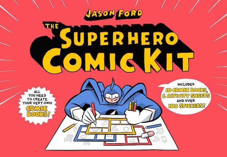 Superhero Comic Kit. Image courtesy of Laurence King Publishing