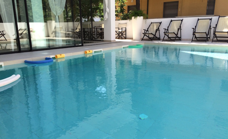 Hotel Tiffany swimming pool. Copyright Gretta Schifano