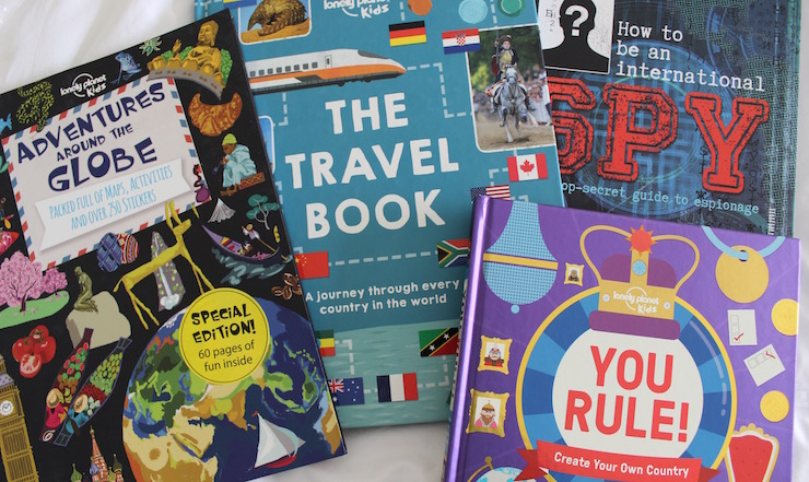 Lonely Planet Kids books