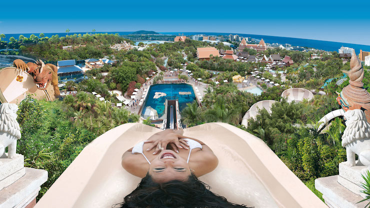 Tower of Power, Siam park, Tenerife. Image courtesy of Siam Park