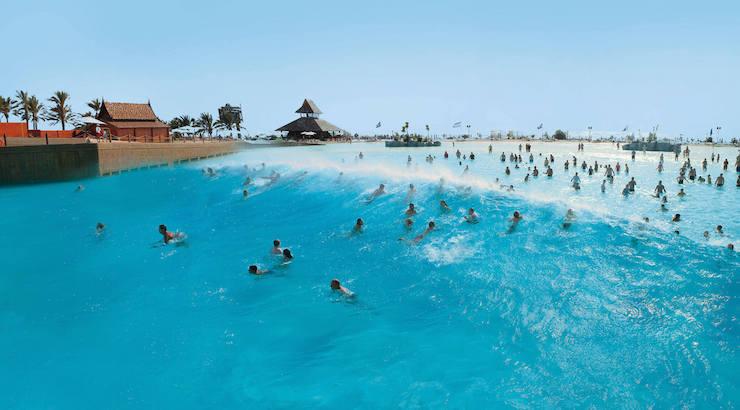 Waves at Siam Beach, Siam Park, Tenerife. Image courtesy of Siam Park