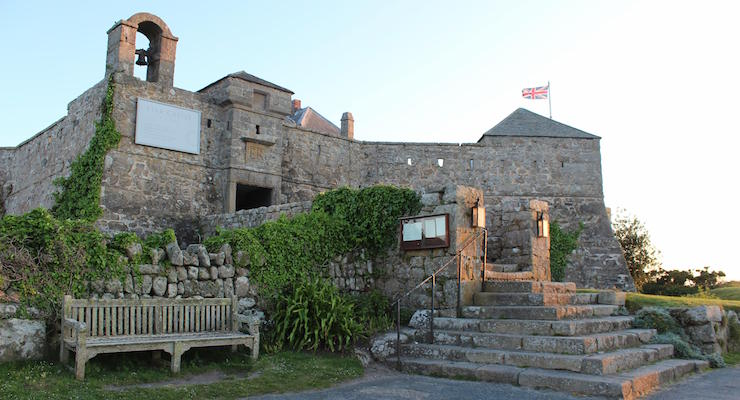 Star Castle Hotel, Isles of Scilly. Copyright Gretta Schifano