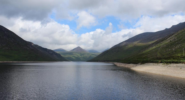 Silent Valley Mountain Park, Mourne Mountains. Copyright Gretta Schifano
