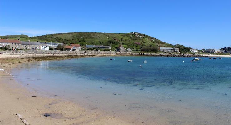 Tresco harbour, Isles of Scilly. Copyright Gretta Schifano