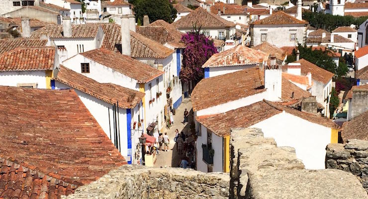 Óbidos, Portugal. Copyright Gretta Schifano