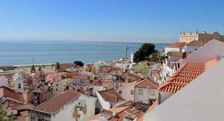 View from the Alfama, Lisbon. Copyright Gretta Schifano – Version 2