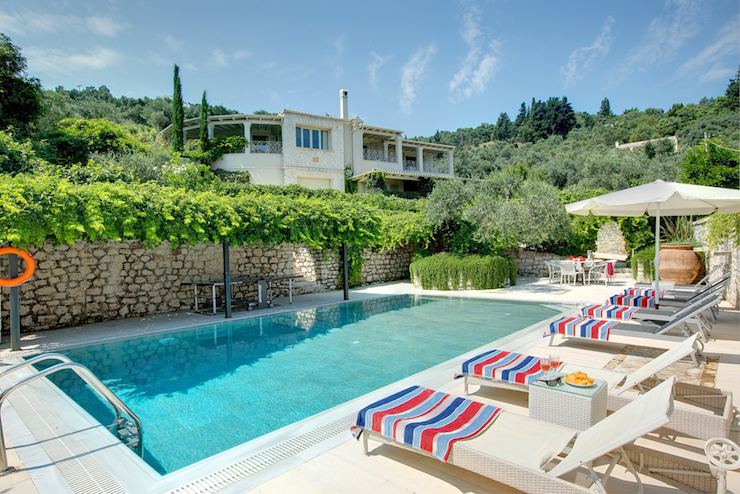 Petroula - Corfu. Image courtesy of Villa Plus.