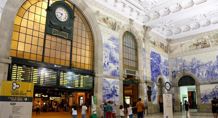 São Bento Station, Porto. Copyright Gretta Schifano