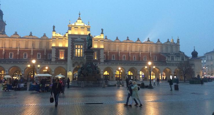 Main Square, Kraków. Copyright Gretta Schifano