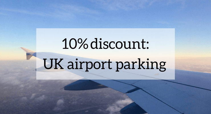 10% airport parking discount