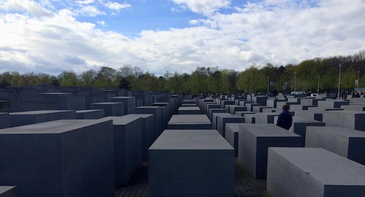 Holocaust Memorial, Berlin. Copyright Gretta Schifano