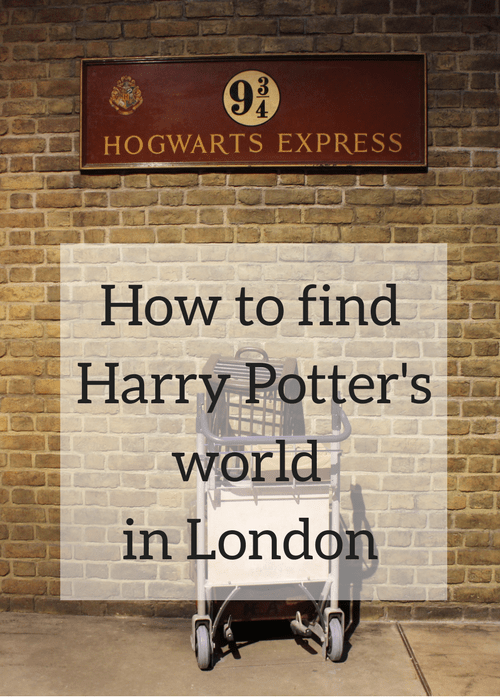 17 Places To Find The World Of Harry Potter In London