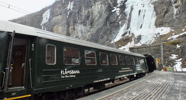 Flåmsbana Railway, Norway. Copyright Nell Heshram