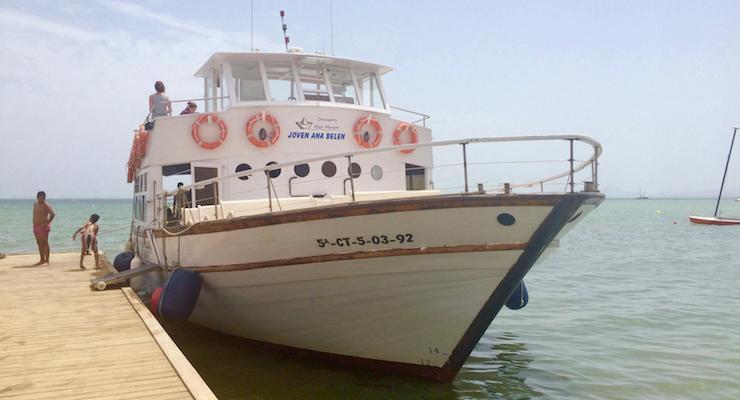 Mar Menor boat trip, Spain. Copyright Gretta Schifano