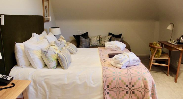 'Roe' room, New Park Manor, New Forest. Copyright Gretta Schifano