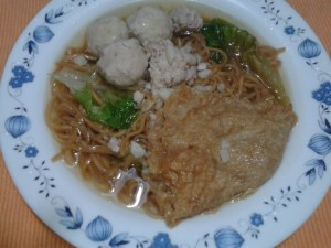 Yee Mee Noodle Soup