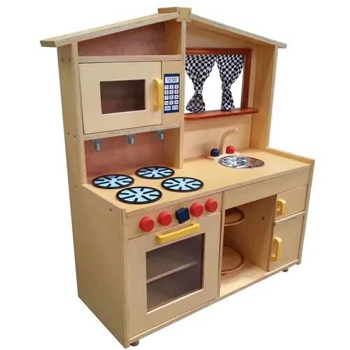wooden kids kitchen price of cabinets 17 gender neutral toy kitchens play