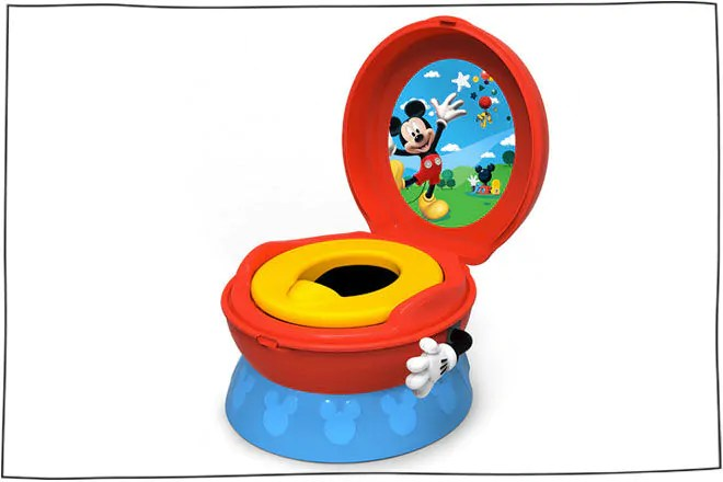 singing potty chair foldable and table set 29 potties for easy toilet training best 3 in 1 flushing sounds mickey mouse