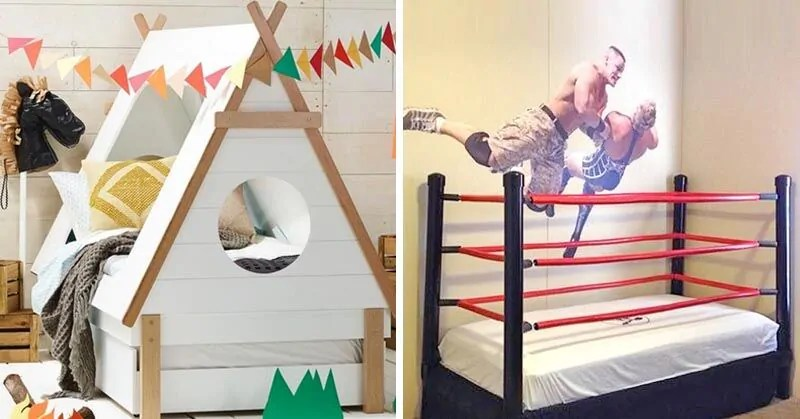 15 insanely cool and quirky kids beds  Mums Grapevine